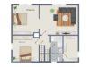 Obergeschoss - Fachwerkhaus (kein Maßstab)